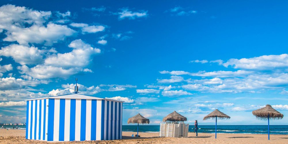 Discover the best 7 beaches near Valencia